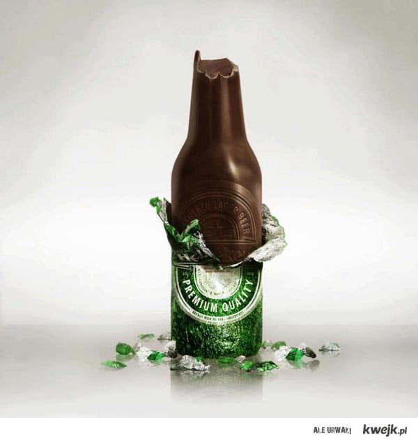 Heineken czekoladowy