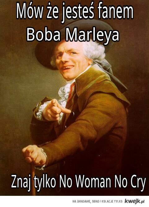 Bądź fanem Boba Marleya