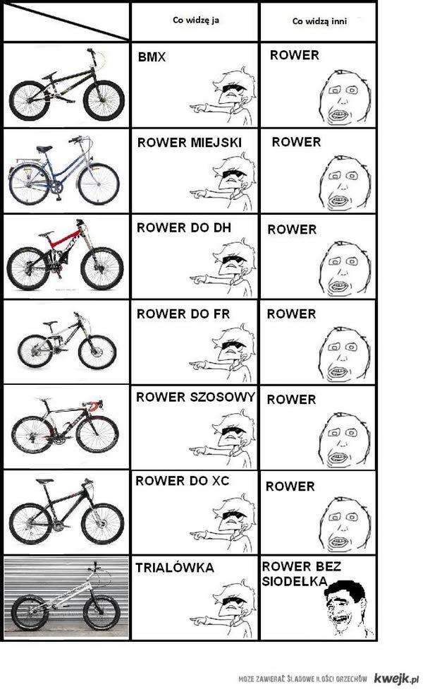 Co widzę - rowery