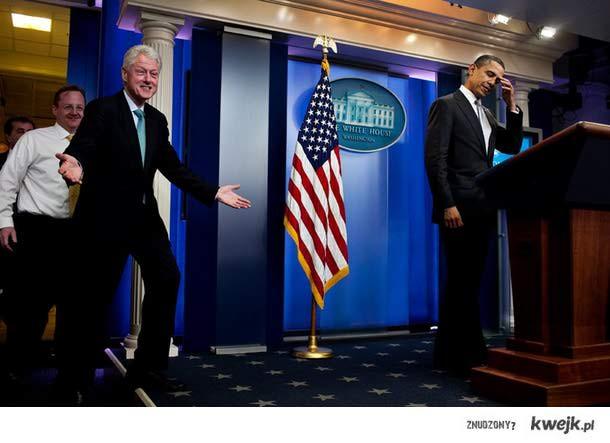 Bill Clinton makes me shy