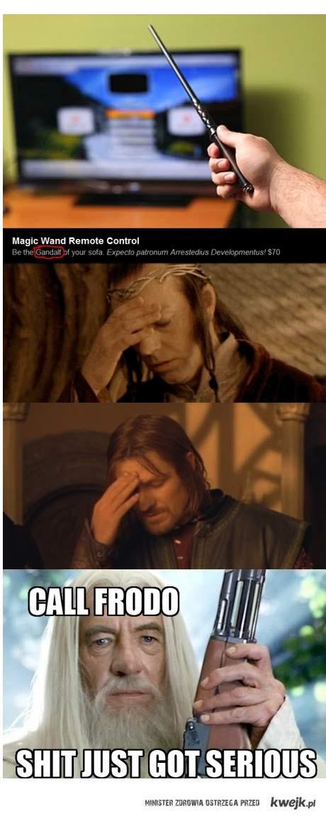 gandalf gets mad