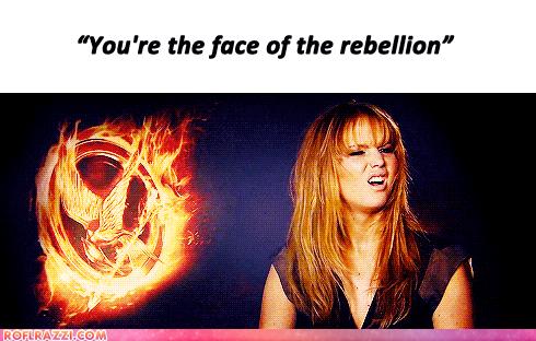 jesteś twarzą rebelii