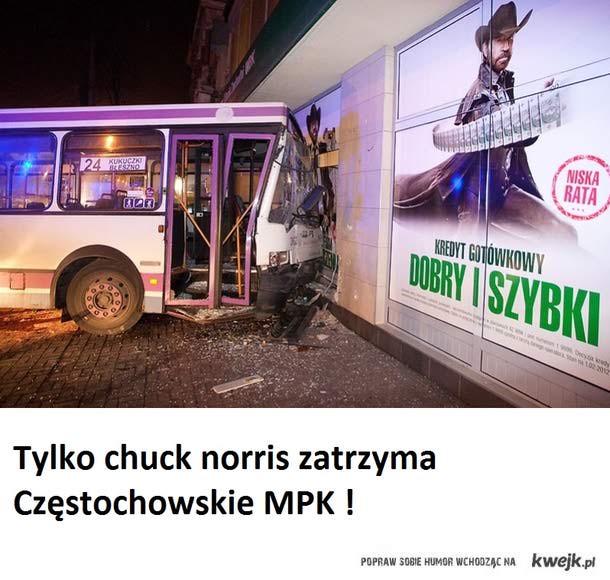 chuck norris czestochowa mpk