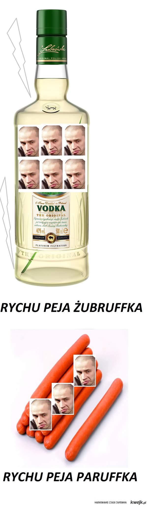 Rychu Peja żubruffka,paruffka.