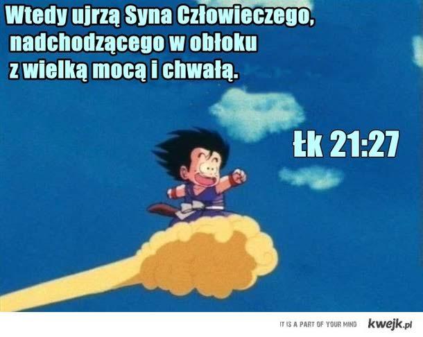 Goku w biblii