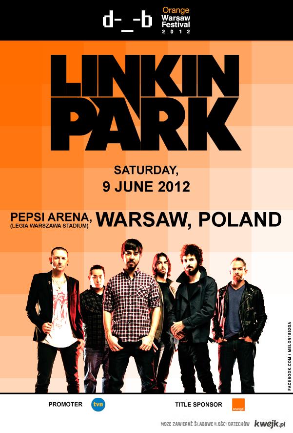 Linkin Park w Polsce!