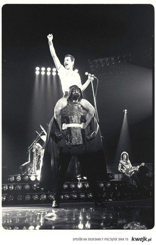 Freddie na Vaderze