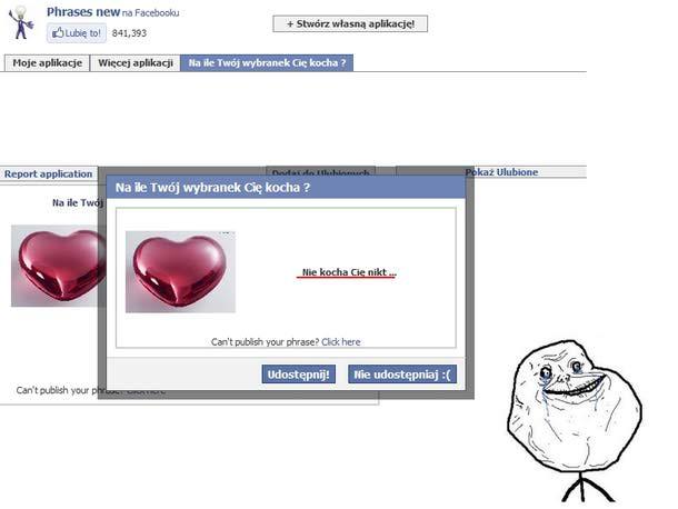 facebook nigdy nie kłamie