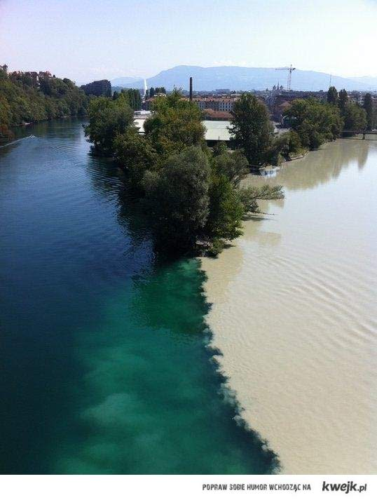dwie rzeki