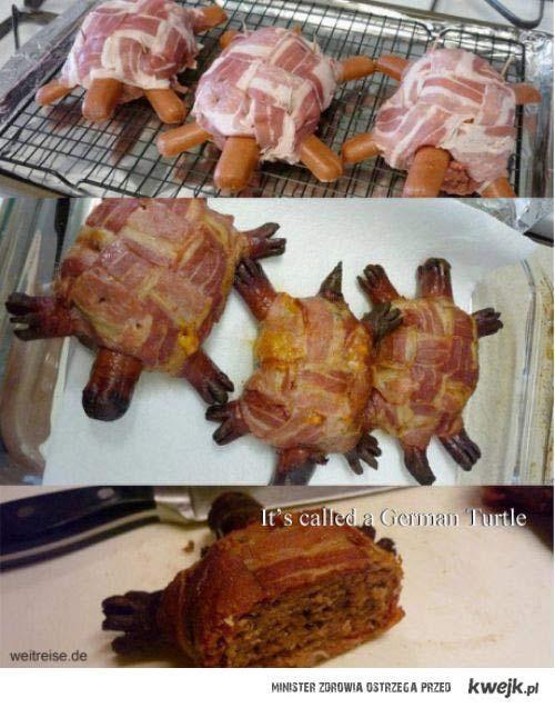 Niemiecka odpowiedź na mięsnego jeża...