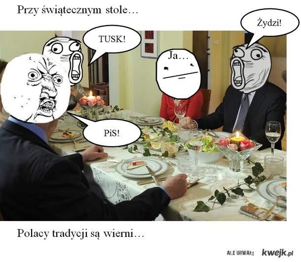 Polska tradycja...