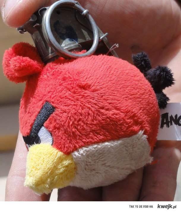 angry birdowy granat