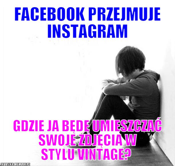 Facebook przejmuje Instagram...