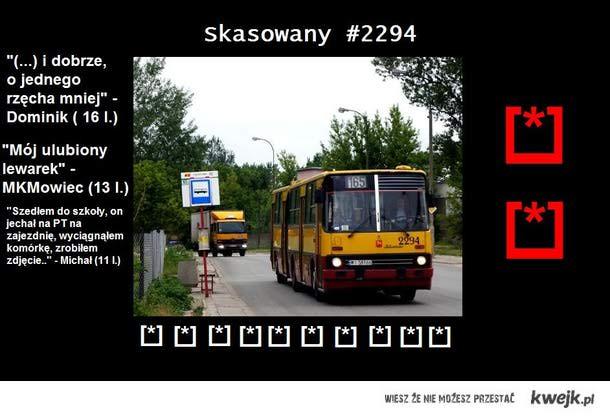 Ciepłe i zimne słowa o warszawskim 2294