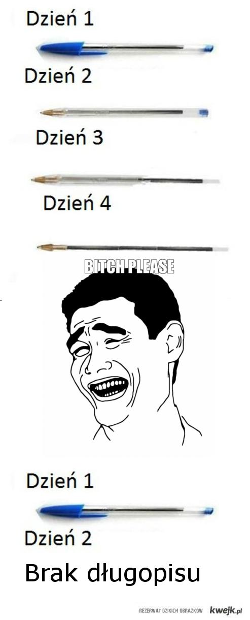 Długopisy bitch please