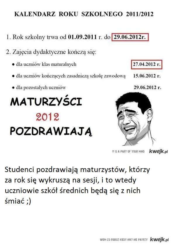 Studenci...