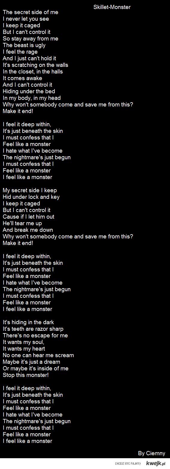 Skillet-Monster