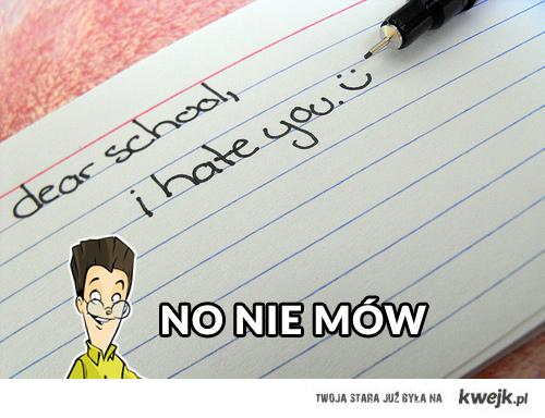 dear school