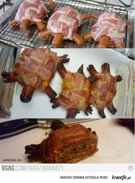 mięsny żółw