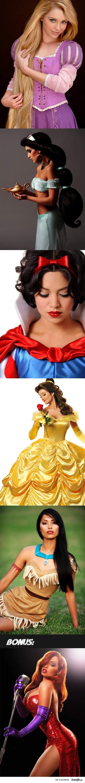 Real-Life Disney Princesses