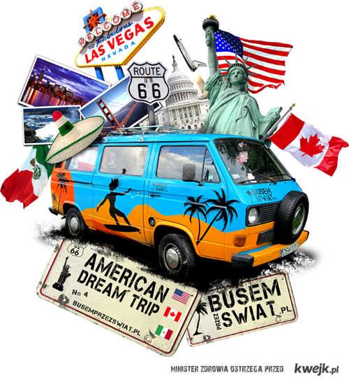 Wyprawa Busem Do Ameryki