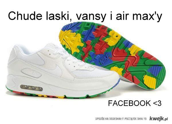 "chude laski, vansy i air max""y"