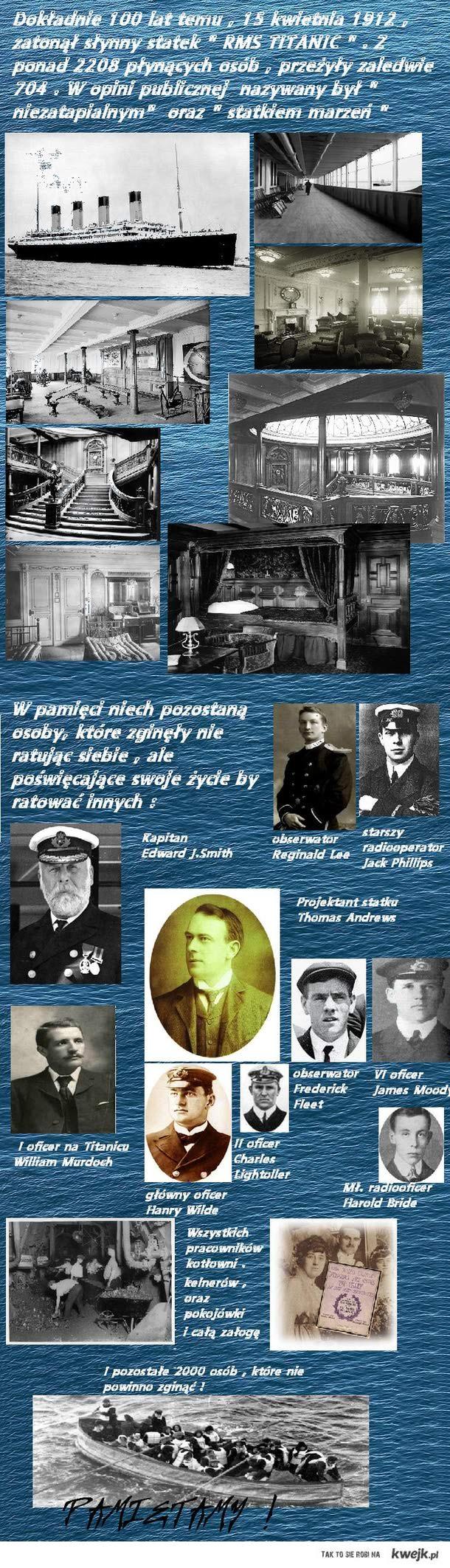 100 rocznica zatonięcia Titanica