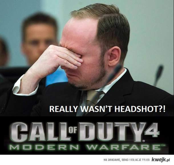 Grał w Call of Duty, mówią że zasłużył na Medal of Honor...