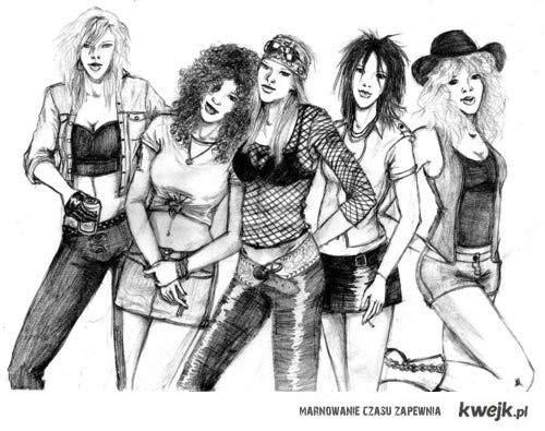 Guns N Roses w wersji żeńskiej