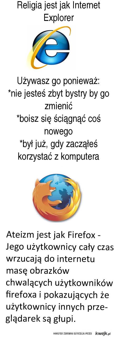 IE vs Firefox