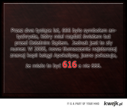 Liczba bestii ;)