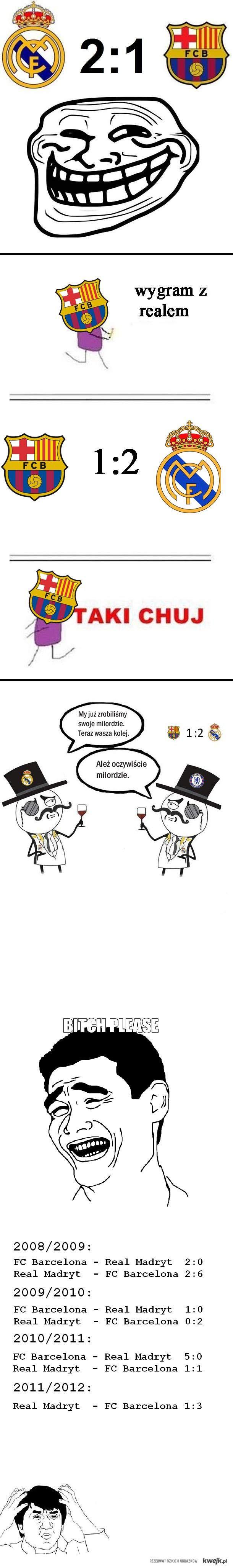 Barca vs Real