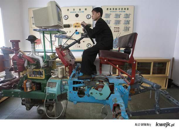 Symultor traktora