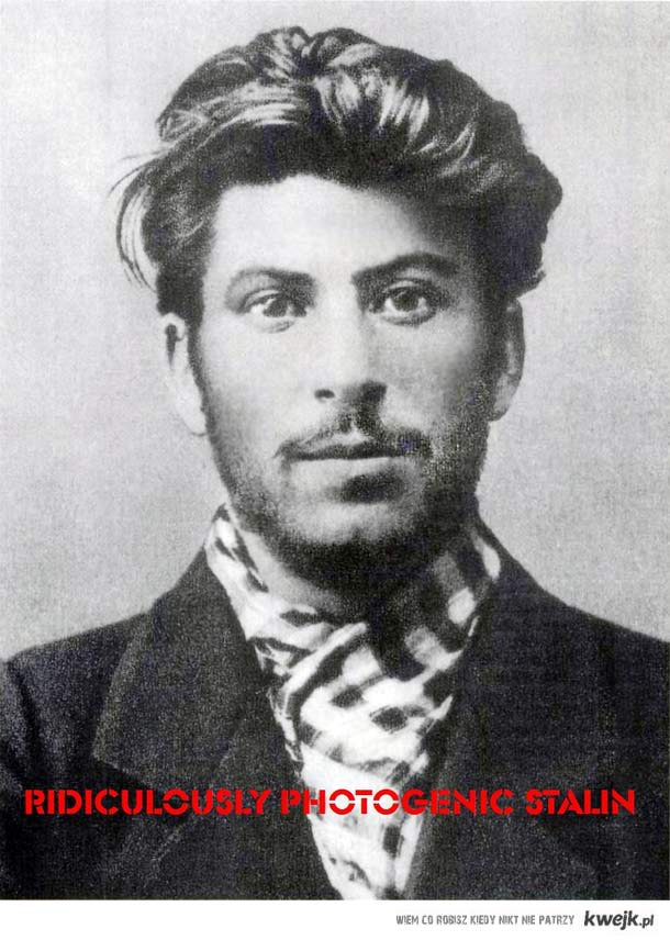 Ridiculously Photogenic Stalin