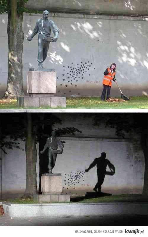 rzeźba i graffiti
