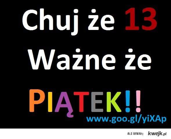 piatek 13
