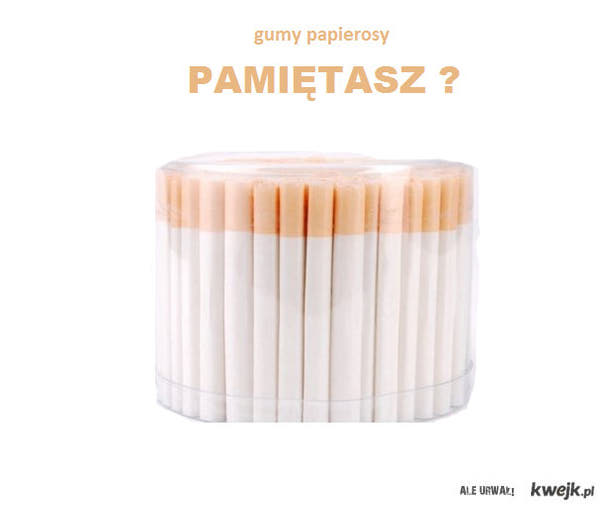 gumy papierosy