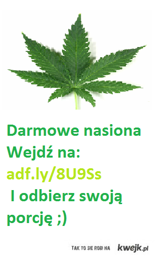 Darmowe nasiona WEED
