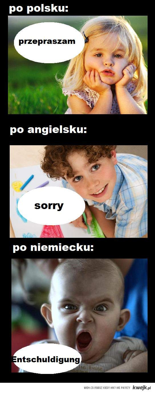 przepraszam-różne języki