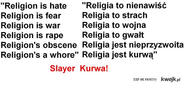 Slayer Kurwa