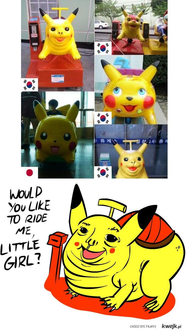 pikachu creepy