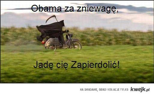 Obama ma wpierdol
