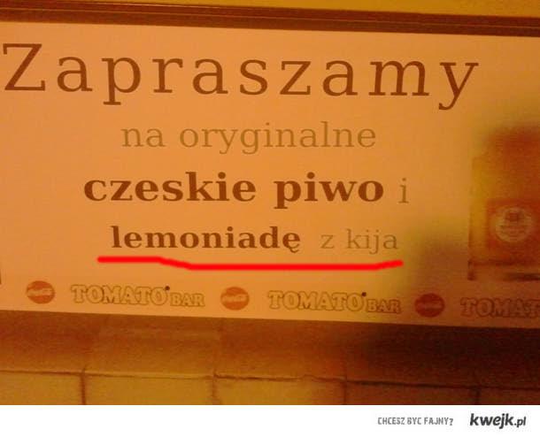 lemoniada z kija