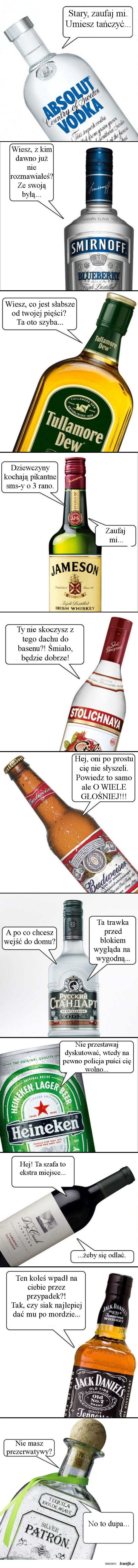 Alkoholowe podpowiedzi