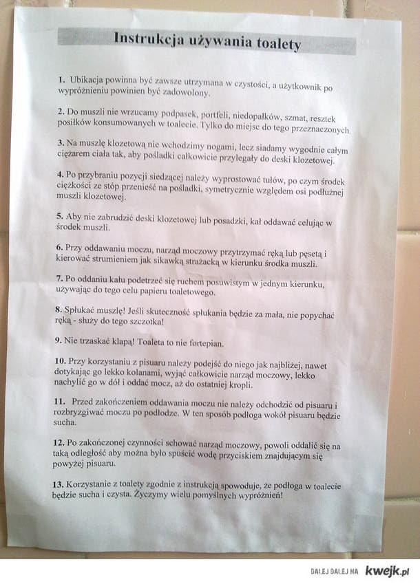 akademicka toaleta