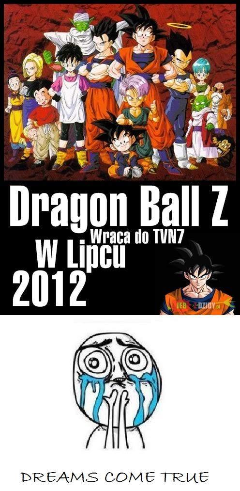 Dragon ball z come back