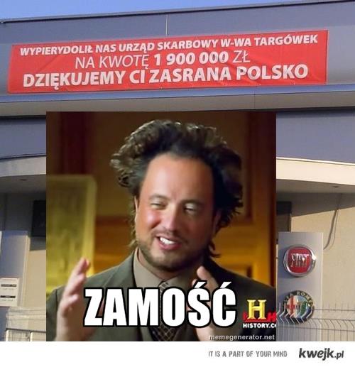 zamość + banner