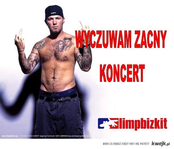 Koncert Limp Bizkit