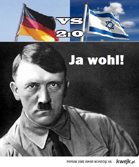 Niemcy vs. Izrael