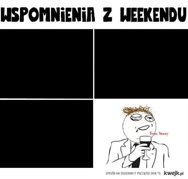 wspomnienie weekendu